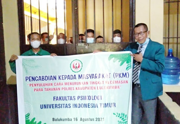 Dosen dan Mahasiswa Fakultas Psikologi UIT, Gelar PKM di Polres Bulukumba