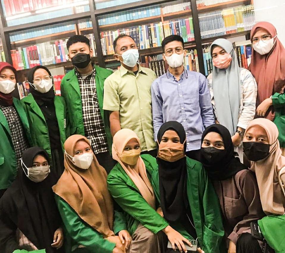 Perpustakaan UIT, Terima PKL Mahasiswa UIN Alauddin Makassar.