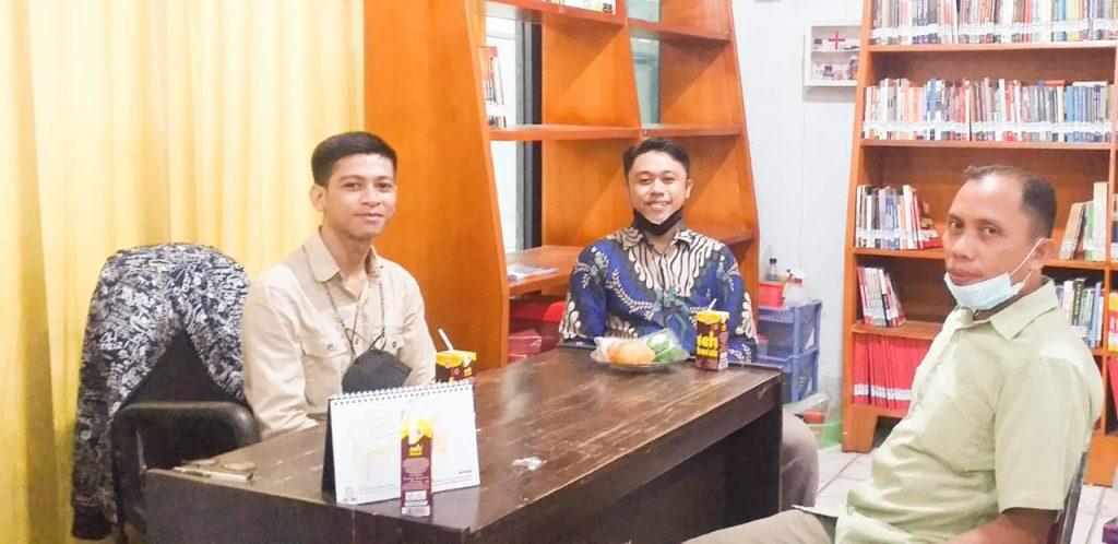 Perpustakaan UIT terima kunjungan Dosen Pembimbing Mahasiswa PKL UIN Alauddin Makassar.