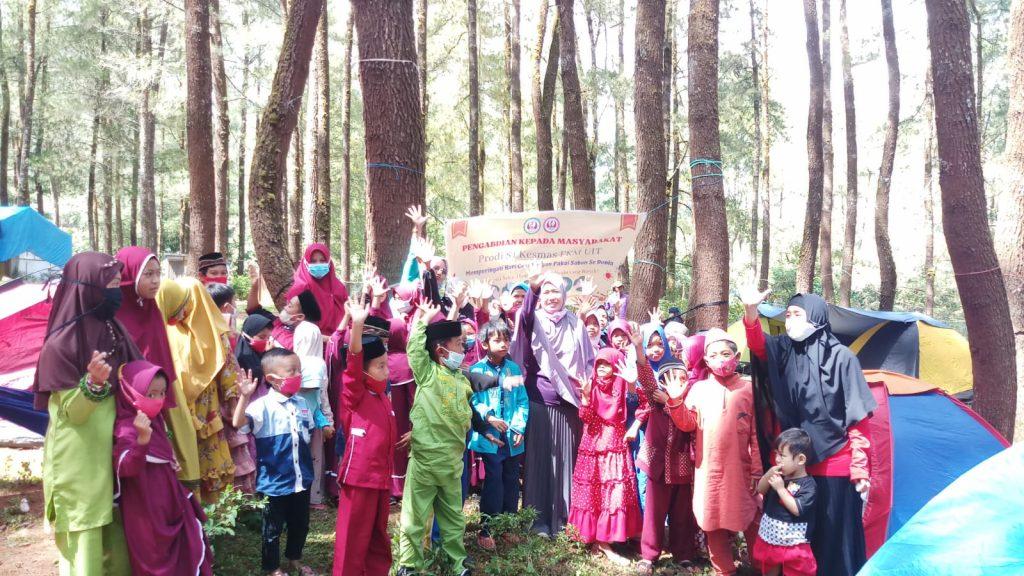 Himaprodi S.1 Kesmas FKM UIT Adakan Camping Day dan Baksos Memperingati hari Cuci Tangan Pakai Sabun Sedunia